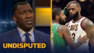 Shannon and Skip discuss LeBron's lack of trust in the Cavaliers after Kyrie trade | UNDISPUTED
