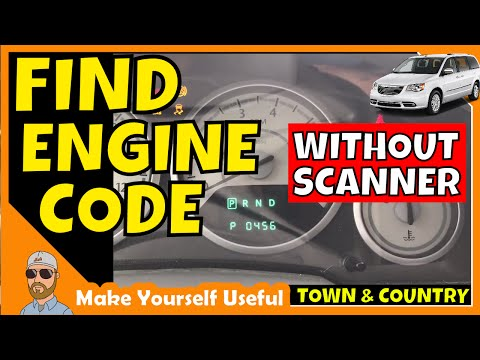 How To Check Town Country Engine Codes Without A Code Scanner