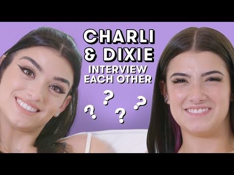 Charli & Dixie D'Amelio Trade Relationship Advice, Talk TikTok Fame, and Answer Fan Questions