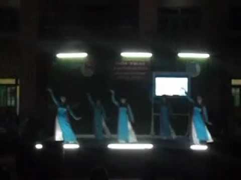 Múa Dấu chân phía trước  - sinh hoạt truyền thống 26 - 03 - 13 THPT Lấp Vò 1