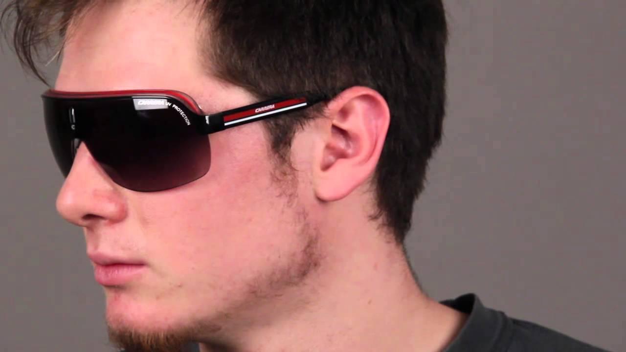 ab4faf7edccc2 Carrera Sunglasses Review - Carrera TOPCAR 1 Black   SmartBuyGlasses -  YouTube