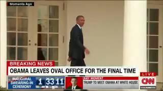 Барак Обама покинул Белый дом