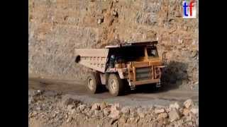 CATERPILLAR 769C Dump Trucks @ Quarry / Steinbruch, Germany, 2004.