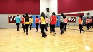 Crocodile Roll - Line Dance (Dance & Teach in English & 中文)