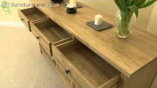 Cairo Solid Oak 5' Sideboard From Oak Furniture Land