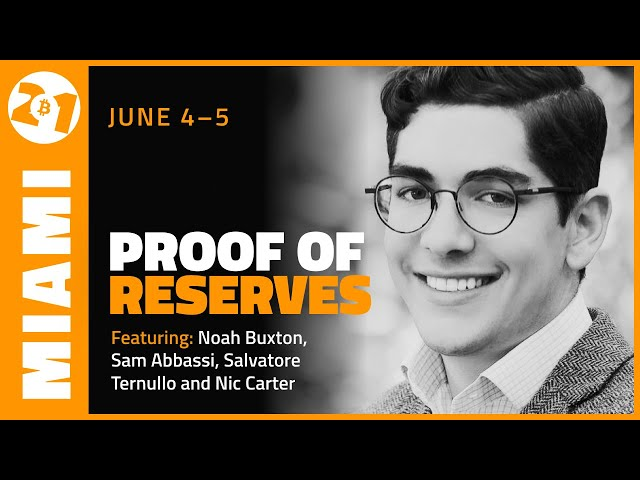 Bitcoin 2021: Proof Of Reserves