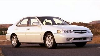 2001 Nissan Altima Start Up and Review 2.4 L 4-Cylinder