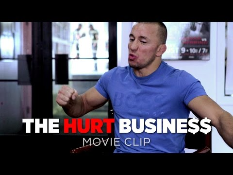 The Hurt Business Movie CLIP | Georges St-Pierre Explains MMA Break and Possible Comeback