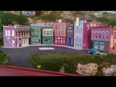 Woodland scenics grand valley ho train layout video #4