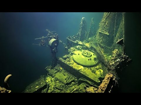 INSIDE THE WWII SUBMARINE THAT WAS LOST WITH ITS CREW