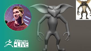 Saturday Afternoon with ZBrush - Pixologic Paul Gaboury - ZBrush 2020 - Part 2