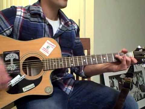 Band Of Horses St Augustine Guitar Tutorial Youtube