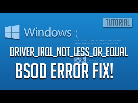 FIX Windows 10 Driver IRQL NOT LESS OR EQUAL NDIS.Sys Blue Screen [2020]