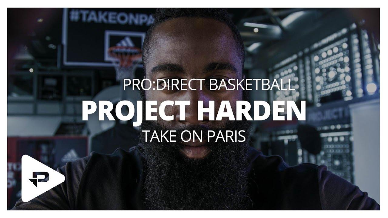 Adidas proyecto Harden: tomar en París YouTube