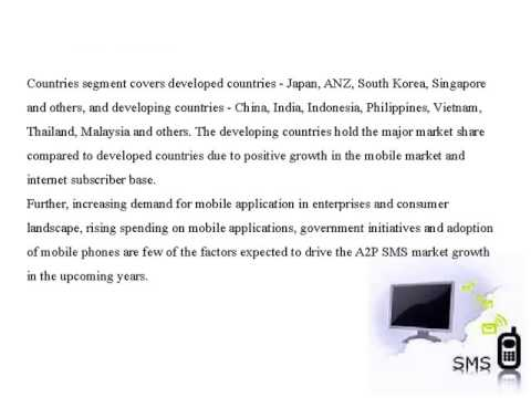 Asia Pacific A2P SMS Market