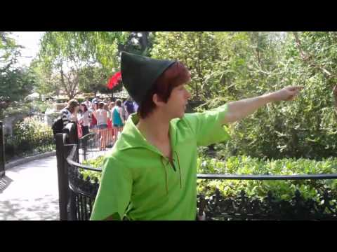 Spieling Peter Pan (talking about pirates and losing your voice)