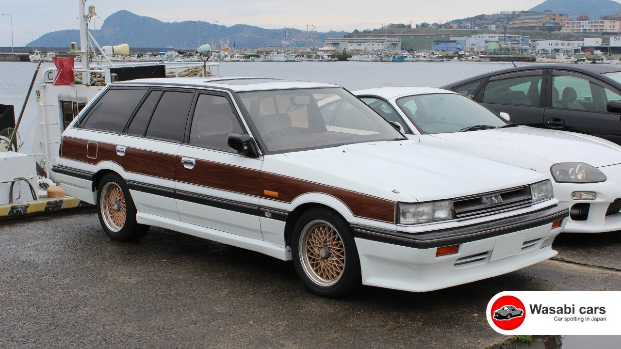 rb20et powered: r31 nissan skyline passage gt turbo station wagon