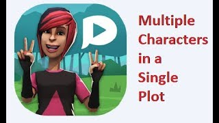 Plotagon:How to have more than two characters in a plot? by