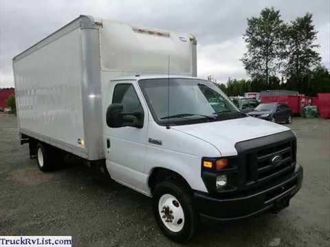 used box trucks for sale youtube. Black Bedroom Furniture Sets. Home Design Ideas