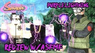 ROBLOX Shinobi Life OA l New Purple Lightning KG - Is it Op