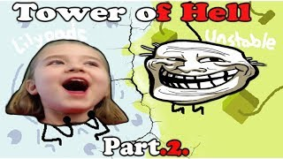 Roblox TOWER Of HELL Part.2 Who Is THE WINNER!