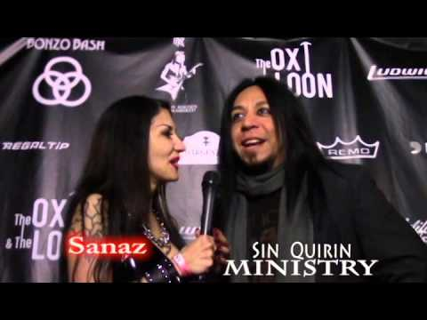 Ministry's Sin Quirin at Randy Rhoads Remembered
