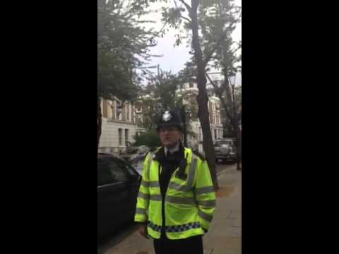Police breach section one of pace - ladbroke grove 2012