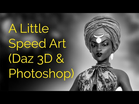 A Little Speed Art (Daz 3D & Photoshop)
