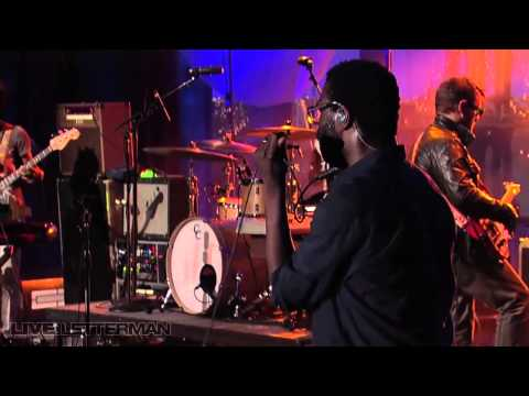 TV On The Radio  -  Blues From Down Here Live Letterman
