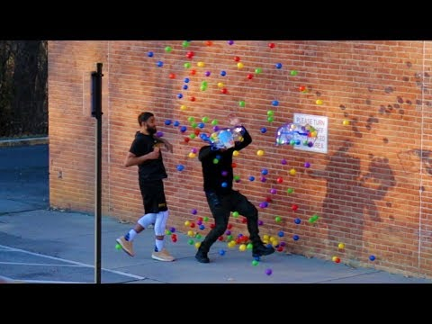 DROPPING BALLS IN PUBLIC PRANK