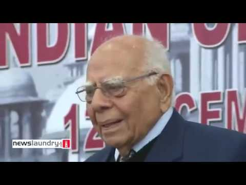 mind blowing verbal dual between subramaniam swamy and ram jethmalani on abrogating articl