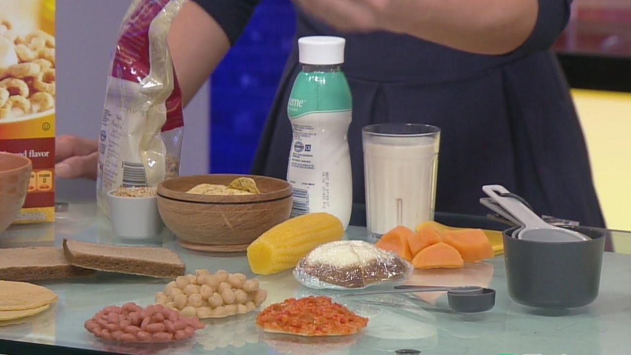 Porciones de alimentos para bajar de peso