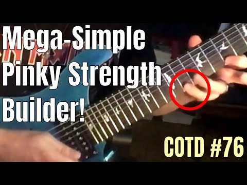ShredMentor Challenge of the Day 76: Pinky Strength & Endurance (Audio Now In Sync lol)
