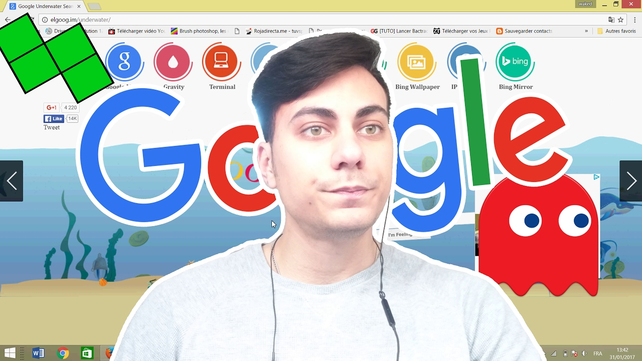 Les jeux cachés de Google - YouTube