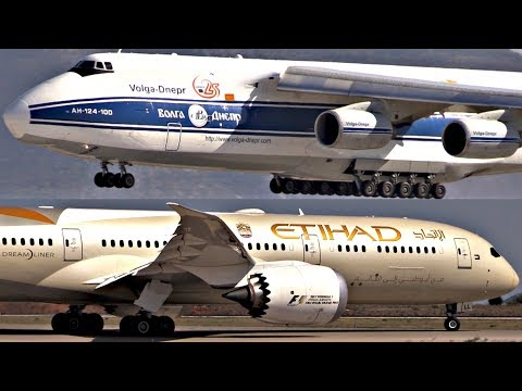 Athens Airport RAMP TOUR 2017 | Close Plane Spotting, 747, Antonov 124, 737-200, 787 and more!