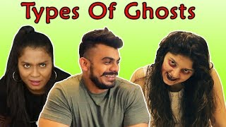 Types Of Ghosts | Funny Video (4 Heads)
