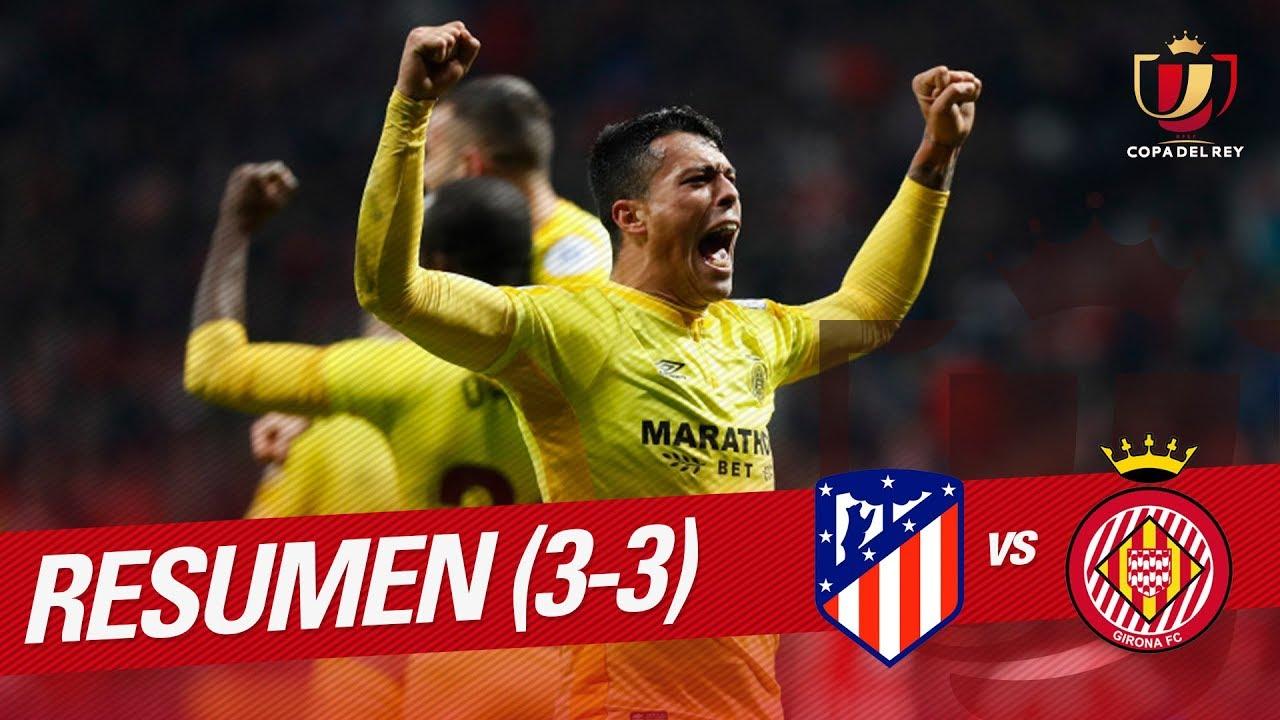 Resumen Atlético de Madrid vs Girona FC (3-3) - YouTube 79e6a1bae8f