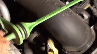 Проверка уровня жидкости в АКПП Opel Vectra C