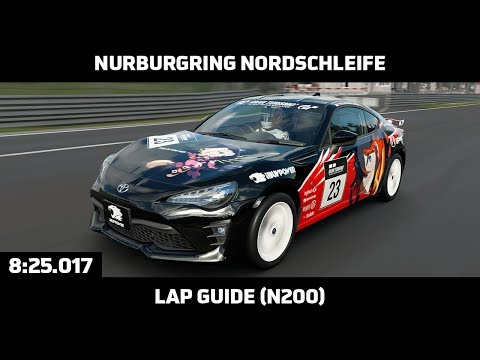 Gran Turismo Sport - Daily Race Lap Guide - Nurburgring Nordschleife - Toyota 86 Limited (N200)