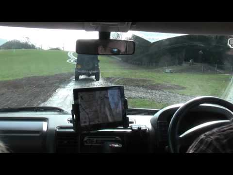 Landrover Discovery 2 TD5 Offroad At Eastnor Castle HD March 2012 Part 1