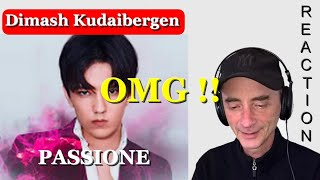 DIMASH KUDAIBERGEN Passione REACTION Vocal Coach ~ New ! Subtitle !