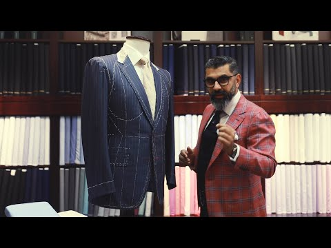 Key Features Of A Real Bespoke Suit - Prakash Parmar #BespokeDubai