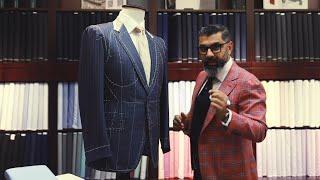 Key features of a Real Bespoke Suit - Prakash Parmar #BespokeDubai