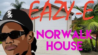 Eazy-E Norwalk House | First Purchased Home From Ruthless | Album Cover Location | & Hospital Visit