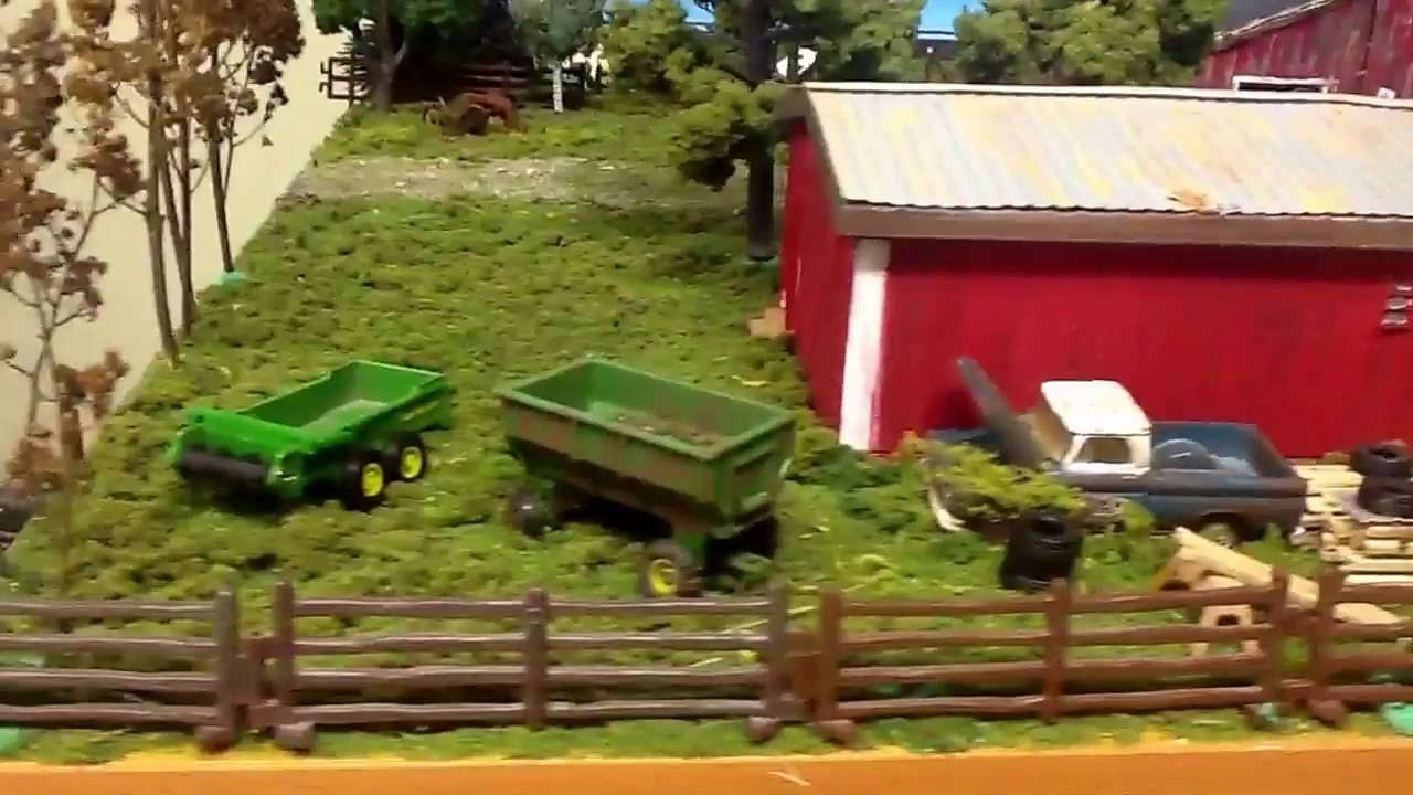 scale 1 64 farm layout rebuild youtube
