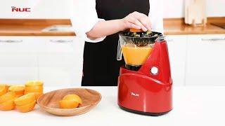 엔유씨 오렌지 착즙기 사용방법편