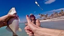 FL Keys FISHING IS TOO EASY!   Backwater fishing in Marathon, Florida
