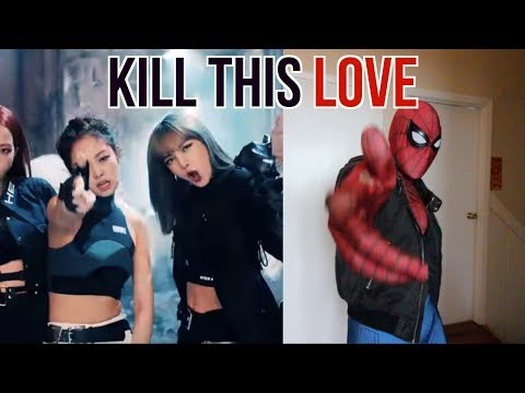 SPIDER-MAN K-POP : BLACKPINK- Kill This Love