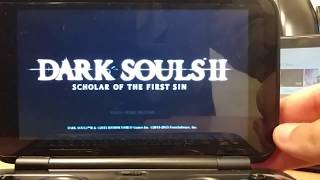 GPD WIN | PC Games | Dark Souls 2 Scholar of the First Sin