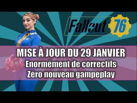 FALLOUT 76: MISE A JOUR DU 19 JANVIER / ENORMEMENT DE CORRECTIFS / ZERO NOUVEAU GAMEPLAY thumbnail